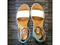 Clarks Narrative Ankle Strap Sandals - UK size 4 (3.5)