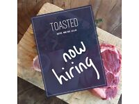Toasted Restaurant is seeking for Sous Chef