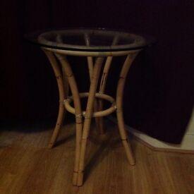 Nice bamboo table