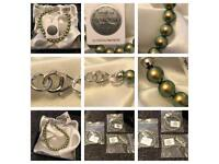 Woman's Swarovski bracelets size 7.5 not stretchy