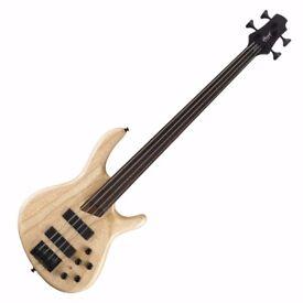 Cort B4FL Fretless Bass