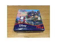 Thomas Kinkade Disney Mickey and Minnie Cottage Puzzle