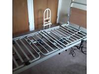 Fully adjustable bed