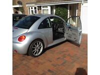 VW silver beetle for sale