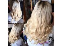 Certified LA Weave & braided sew-in extentionist! Mobile service in Nottinghamshire. Get in touch X