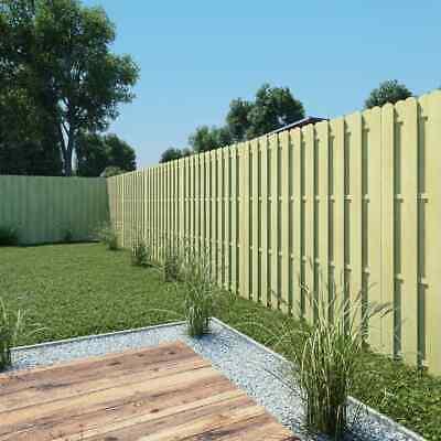 vidaXL Fence Panel 180x180cm FSC Impregnated Pinewood Outdoor Garden Barrier