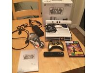 Star Wars Xbox 360 Bundle with 10 games, 2 controllers, Kinect and Media Remote