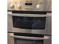 Used Indesit Double Oven