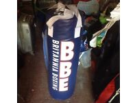 Large heavy duty punch bag
