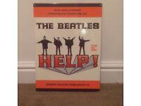 Metal Beatles sign/plaque