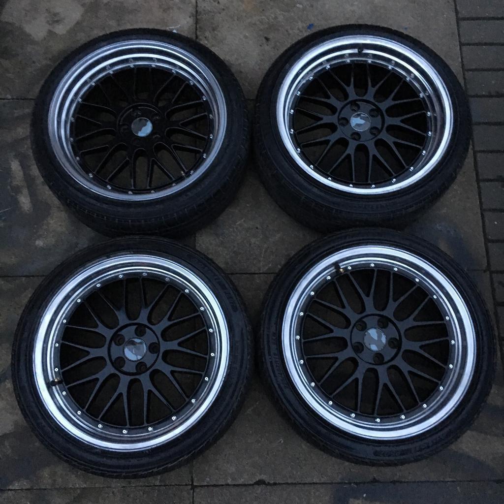 BM Autosport, Bbs Lm 5x100 Staggered Alloys