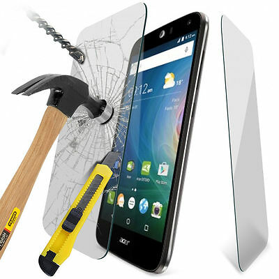 100% Tough Tempered Glass Film Screen Protector for Acer Liquid Z630