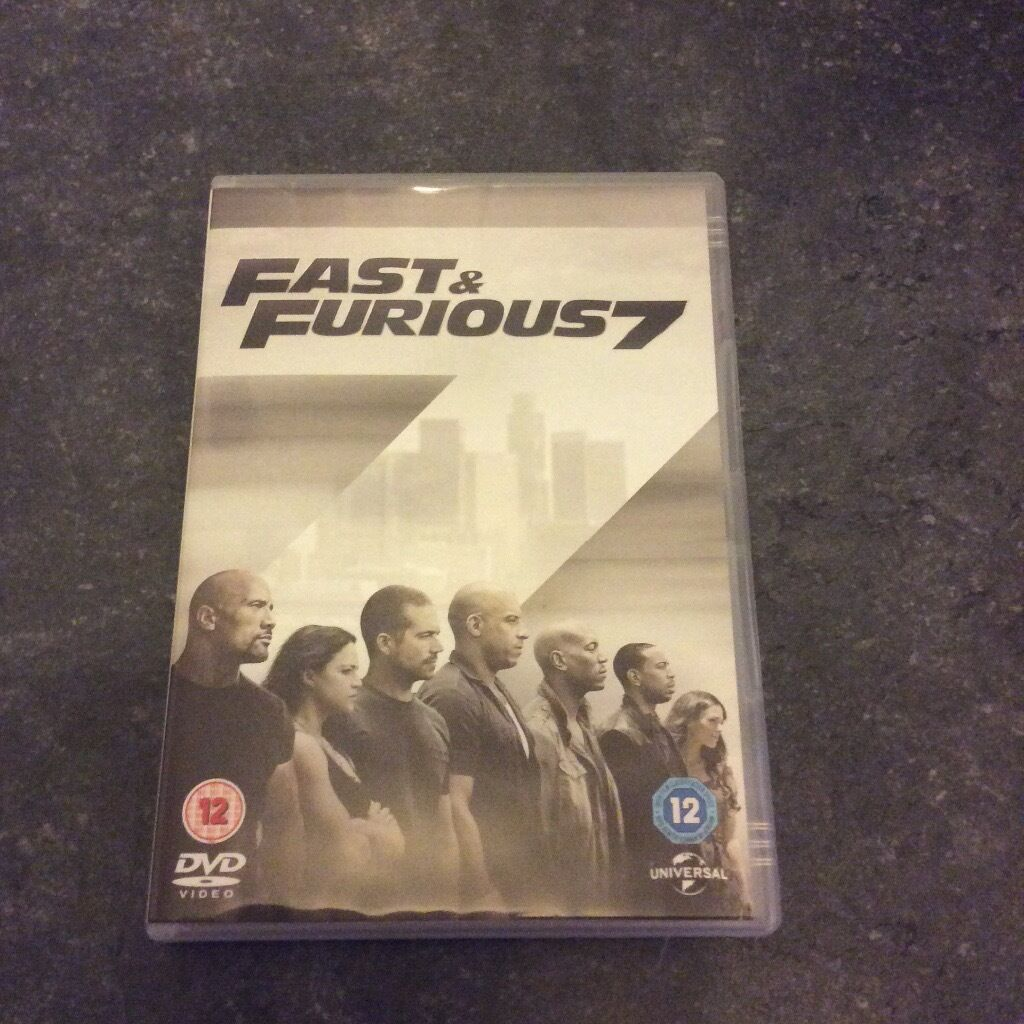 2015 Fast and furious 7
