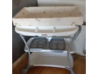Reduced Price - Mamas and Papas Changing Station with Bath - Almost New