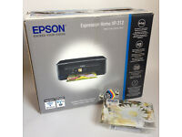 BRAND NEW Epson Printer, Copier, Scanner & Ink Cartridges - Expression Home XP-312 - Never been used