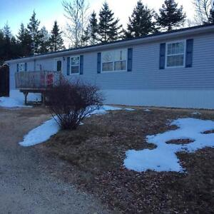 Nice mini home with large lot, near Chester Basin