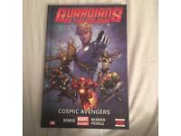 Marvel guardians of the galaxy comic book