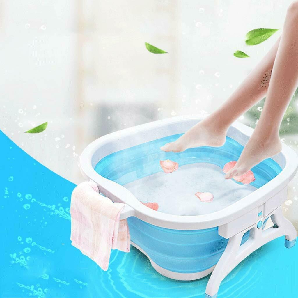 Faltbare Fußsprudelbad Fuß Massage Fußmassagegerät Fußbadewanne Fußwanne DHL