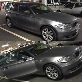 BMW 1 series coupe 118d 2011 plate