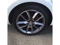 """Skoda VRS 18"""" Alloy Wheels"""
