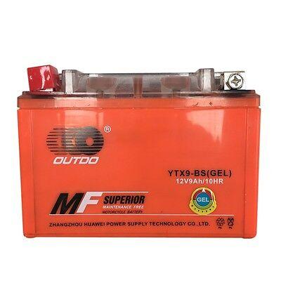 GEL YTX9-BS Battery For Honda TRX 125 250 300 700 EX 400EX Sportrax Fourtrax NEW