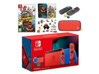 Nintendo Switch, Mario 3D & Bowsers Fury, Mario Red & Blue Edition, Brand New SOLD OUT, New Release
