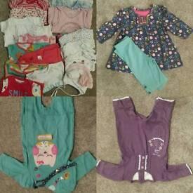 Tiny baby girl bundle