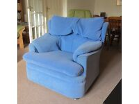 FREE - My favourite comfortable blue armchair