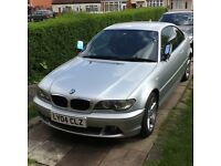 BMW 318 CI SEMI-AUTO 2004 FACELIFT CRYSTAL FOGLIGHTS HEATED SEATS TINTED WINDOWS M SPORTS STEERING