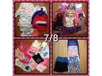 Bundle of girls 7/8 years clothes