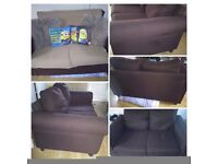 Fabric 2seater sofa