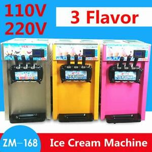 2FLAVOR SOFT SERVE MACHINE WITH TWIST  - ICE CREAM- YOGURT- FREE SHIPPING