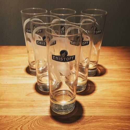Lot de 6 verres Eristoff modèle long drink 22cl ou 32cl