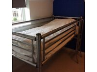 Metal cabin bed (Jaybee)