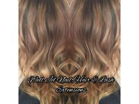 Hair Extensions Bournemouth all methods. Pre bonded and micro rings. Mobile hair extensions