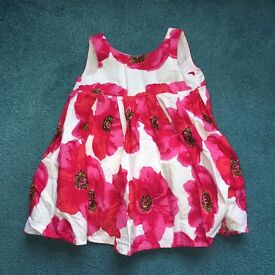 Summery prom style dress - size 3-6 months - Next