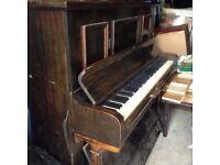 Upright piano. Piano