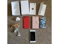 Iphone 6 Gold 64GB used A* Condition fully working boxed with accessories