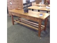Pine Scullery Table