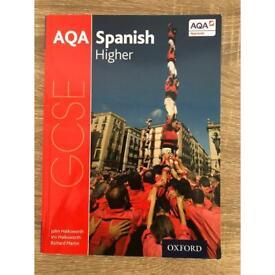 AQA Spanish higher GCSE textbook