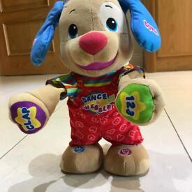 FisherPrice Dance and Wiggle dog