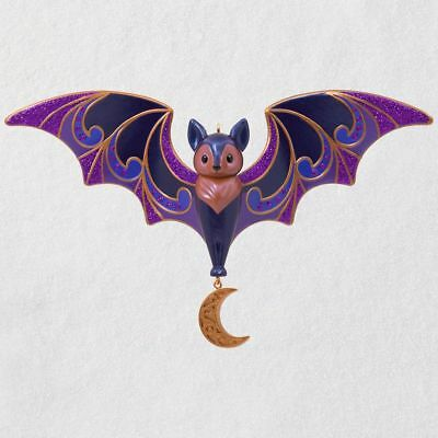 Hallmark 2018 ~ Bewitching Bat Halloween Ornament - Hallmark Halloween