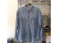 Levis denim shirt 80's vintage