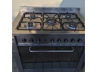 Idesit Range Cooker Electric Oven Gas Hob