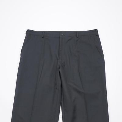 NIKE GOLF Dri Fit Flat Front Casual Golf Pants Black Mens 40x32