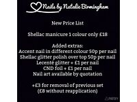 Mobile CND Shellac™ Manicures & Pedicures