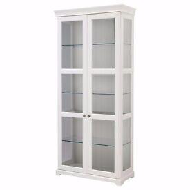 Ikea Display Cabinet with lighting X 2