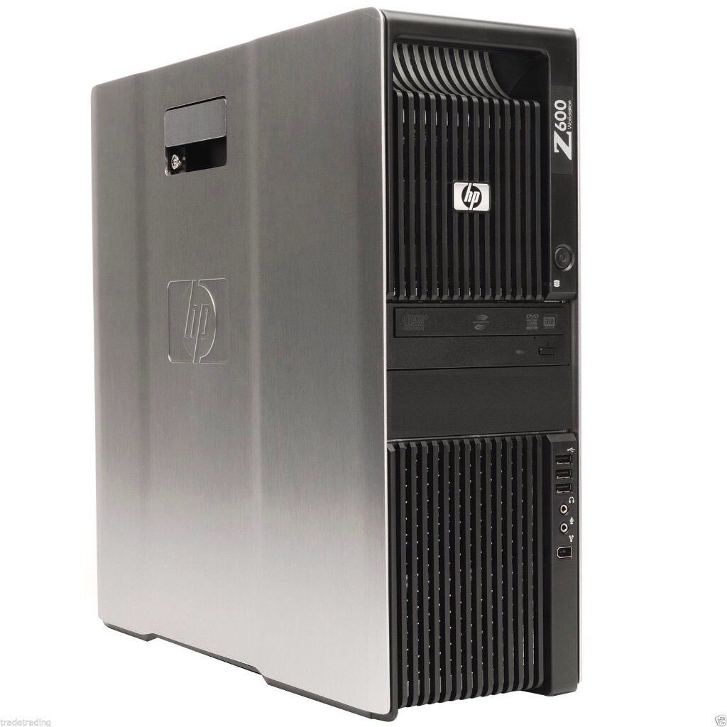 FIREPRO GRAPHICS V3900 HP Z600 WORKSTATION 12GB 3TB XEON E5530 2.40GHz WIN 7 PRO