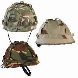 Kombat Kids Army M1 Helmet With Cover Fancy Dress