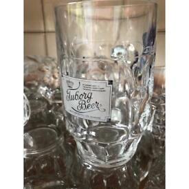 Beer Tanker Pint Glasses